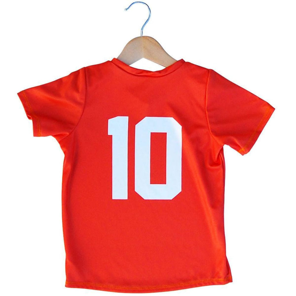 Holland Lion #10 Kids Soccer Jersey - Ultras Soccer Jerseys