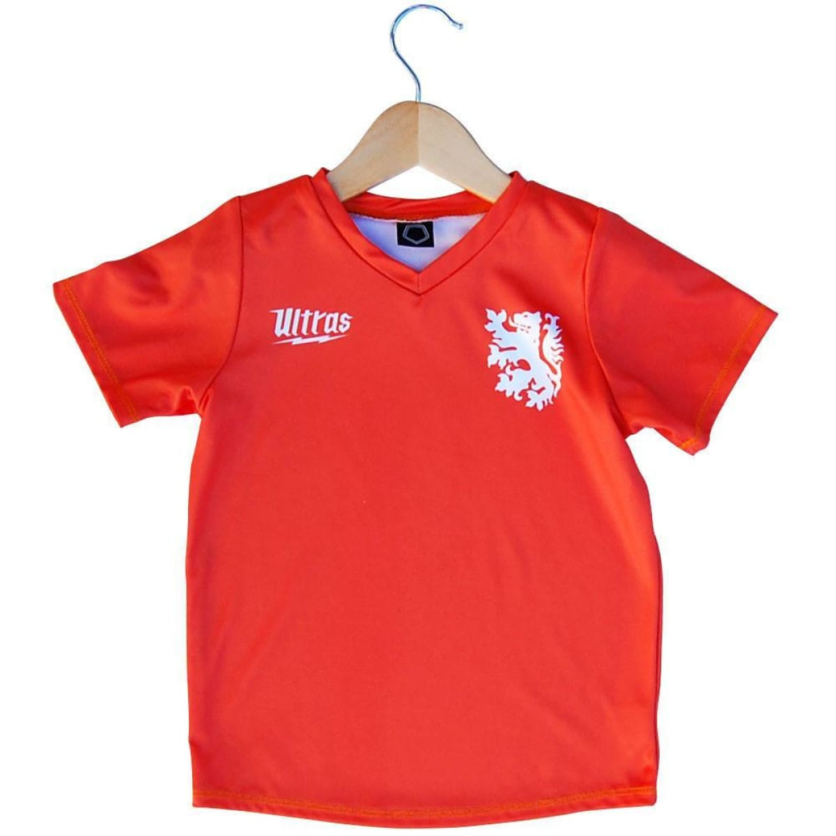 Holland Lion #10 Kids Soccer Jersey - Orange / Toddler 1 / No - Ultras Soccer Jerseys