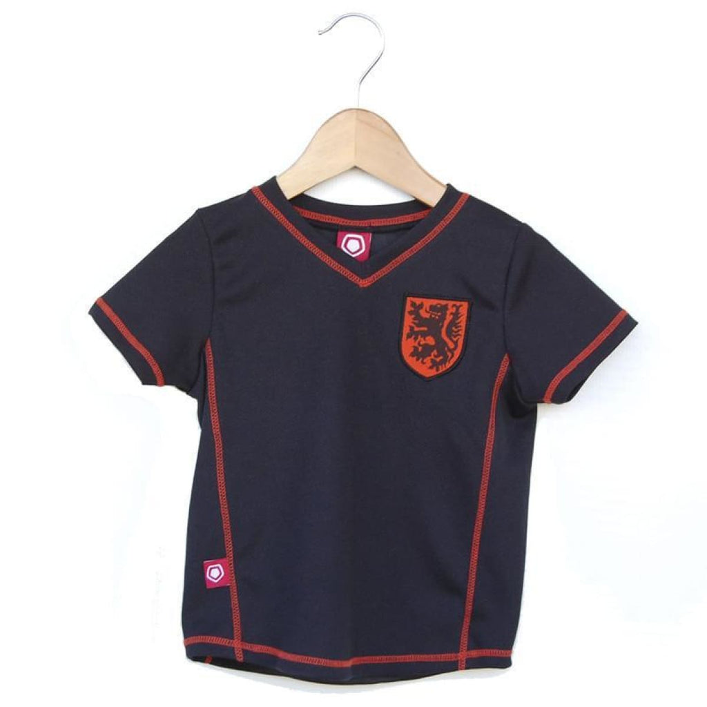 Holland Soccer Toddler Jersey - Black / Toddler 1 - Ultras Soccer Boutique Toddler Jerseys