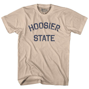 Indiana Hoosier State Nickname Adult Cotton T-shirt by Ultras