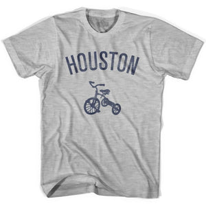 Houston City Tricycle Womens Cotton T-shirt - Tricycle City