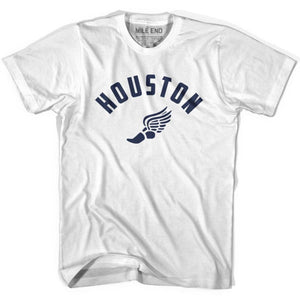Houston Track T-shirt - White / Youth X-Small - Mile End Track