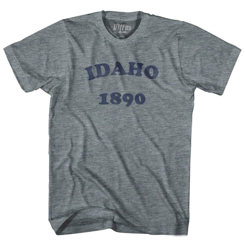 Ultras - Idaho State 1890 Womens Tri-Blend Junior Cut Vintage T-shirt