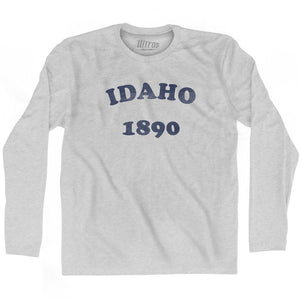 Ultras - Idaho State 1890 Adult Cotton Long Sleeve Vintage T-shirt