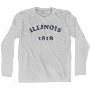 Ultras - Illinois State 1818 Adult Cotton Long Sleeve Vintage T-shirt