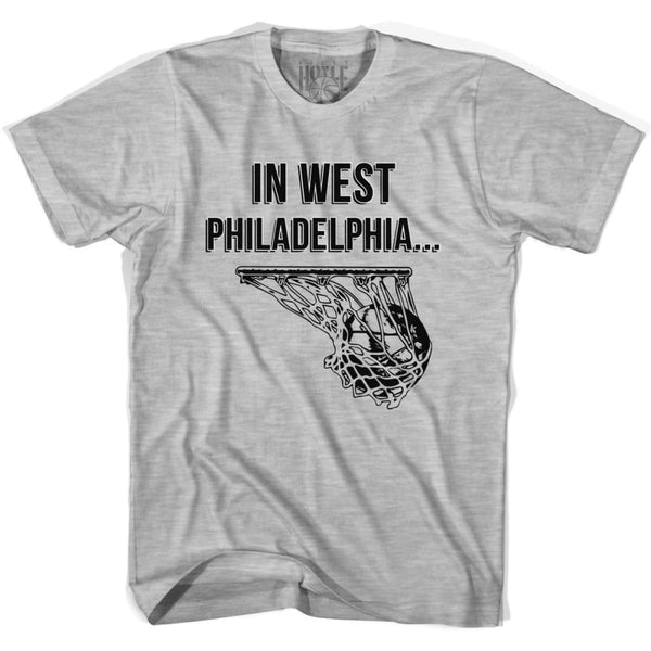 In West Philadelphia Basketball T-shirt T-shirt - Basketball T-shirt