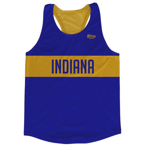 Indiana Finish Line Running Tank Top Racerback Track and Cross Country Singlet Jersey - Navy / Adult X-Small - Running Top