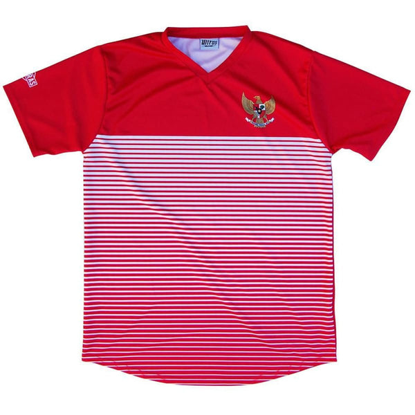 Indonesia Rise Soccer Jersey - Red / Toddler 1 / No - Ultras Country Soccer Jerseys