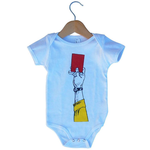 Infant Red Card Soccer Onesie - Infant Onesie