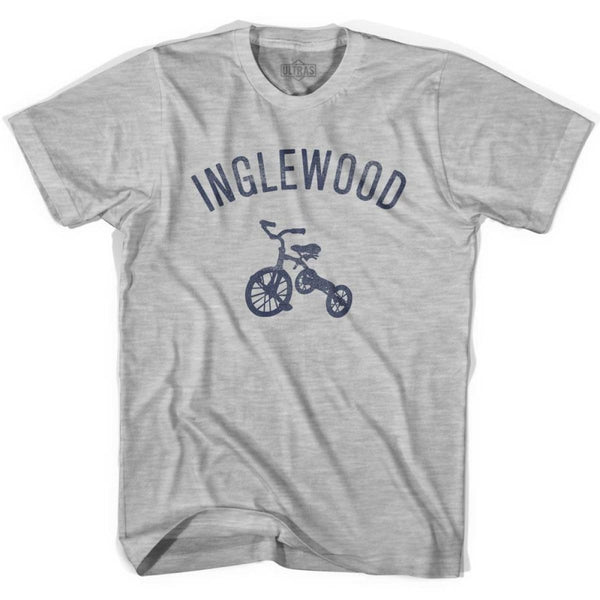 Inglewood City Tricycle Womens Cotton T-shirt - Tricycle City