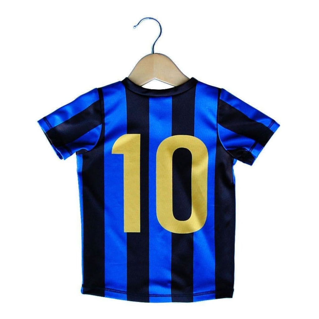 Inter Scudetto 10 Toddler Soccer Sublimated Jersey - Ultras City Soccer Jerseys