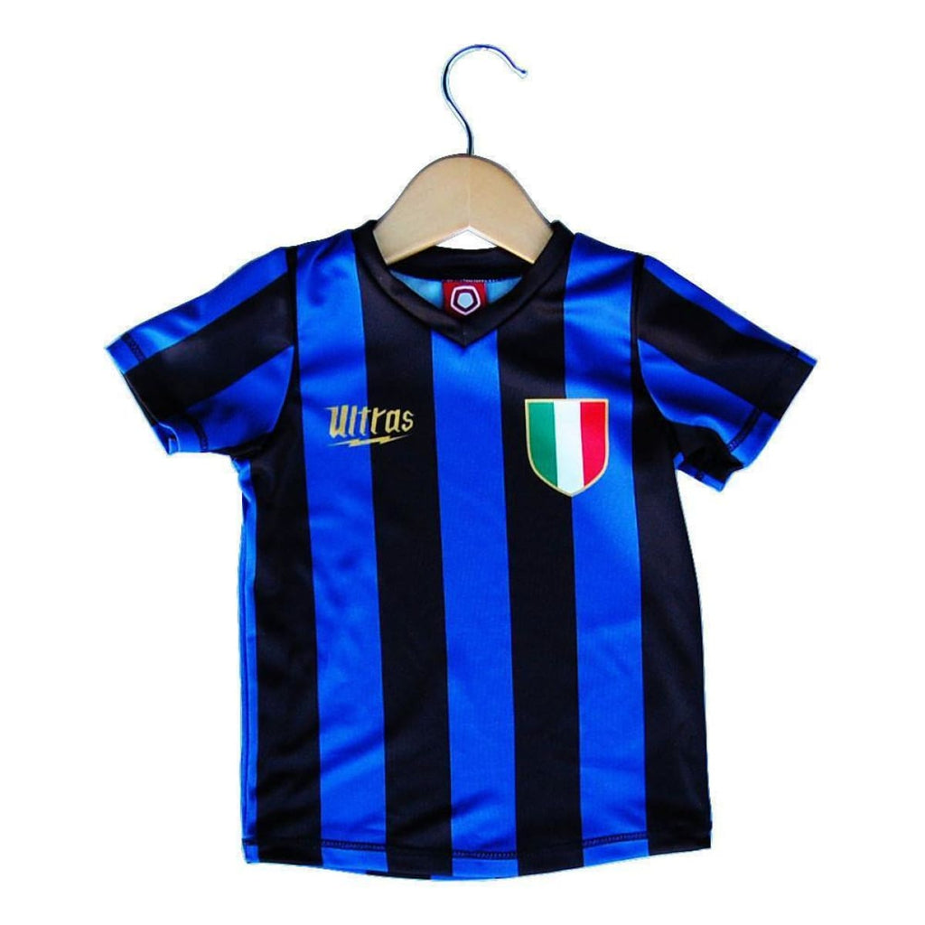 Inter Scudetto 10 Toddler Soccer Sublimated Jersey - Royal / Toddler 1 / No - Ultras City Soccer Jerseys