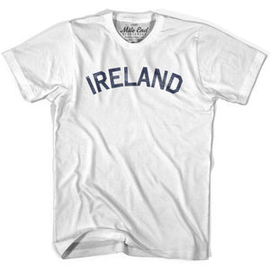 Ireland City Vintage T-shirt - White / Youth X-Small - Mile End City