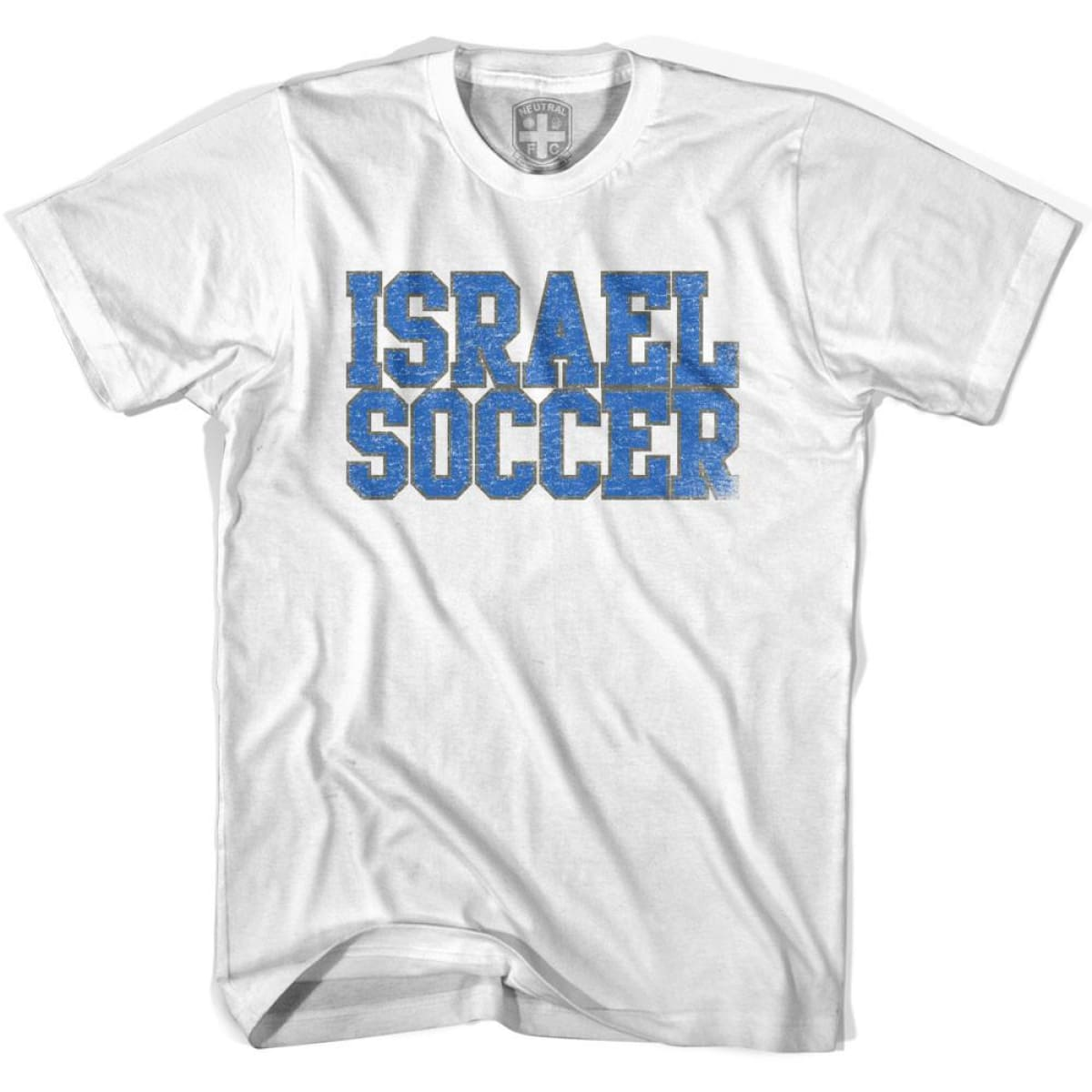 Israel Soccer Nations World Cup T-shirt - White / Youth X-Small - Ultras Soccer T-shirts