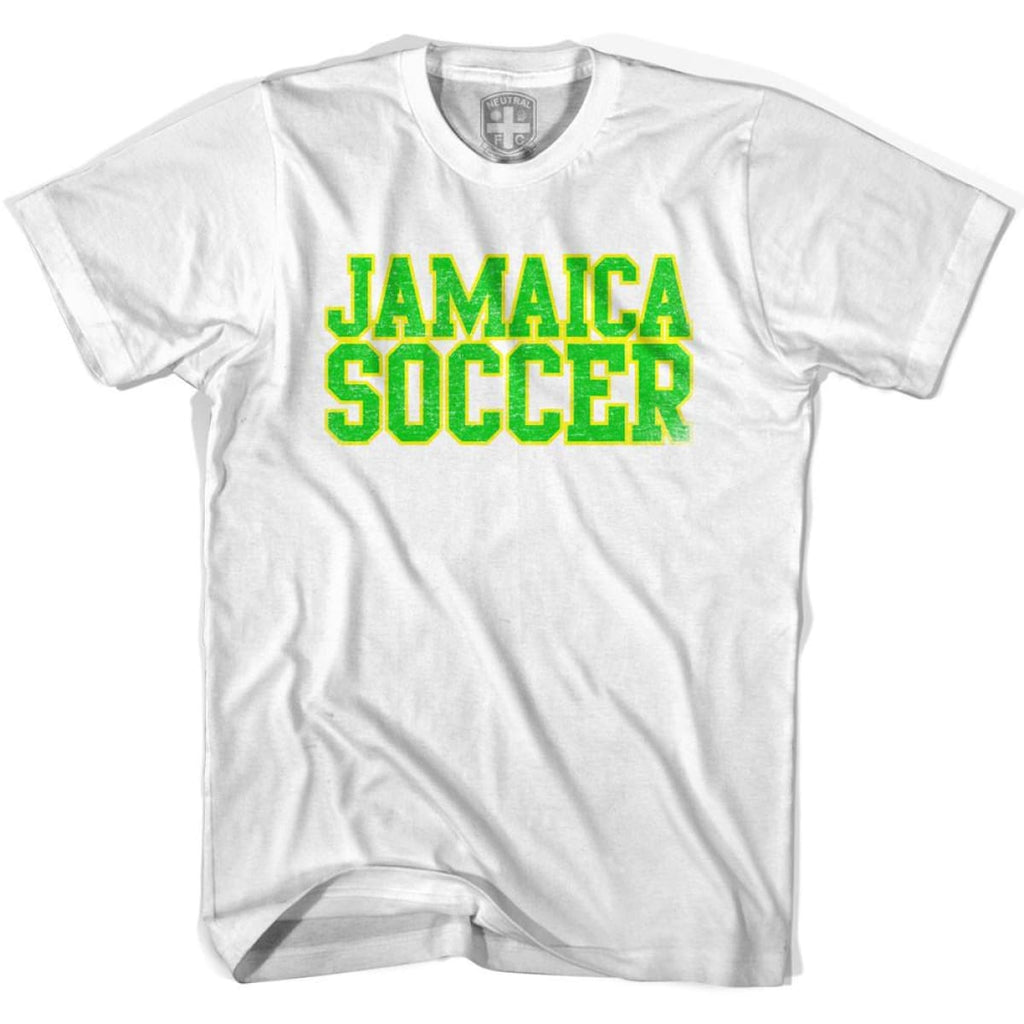 Jamaica Soccer Nations World Cup T-shirt - White / Youth X-Small - Ultras Soccer T-shirts