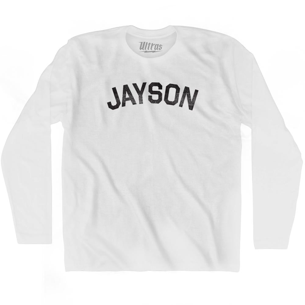 Jayson Adult Cotton Long Sleeve T-shirt by Ultras