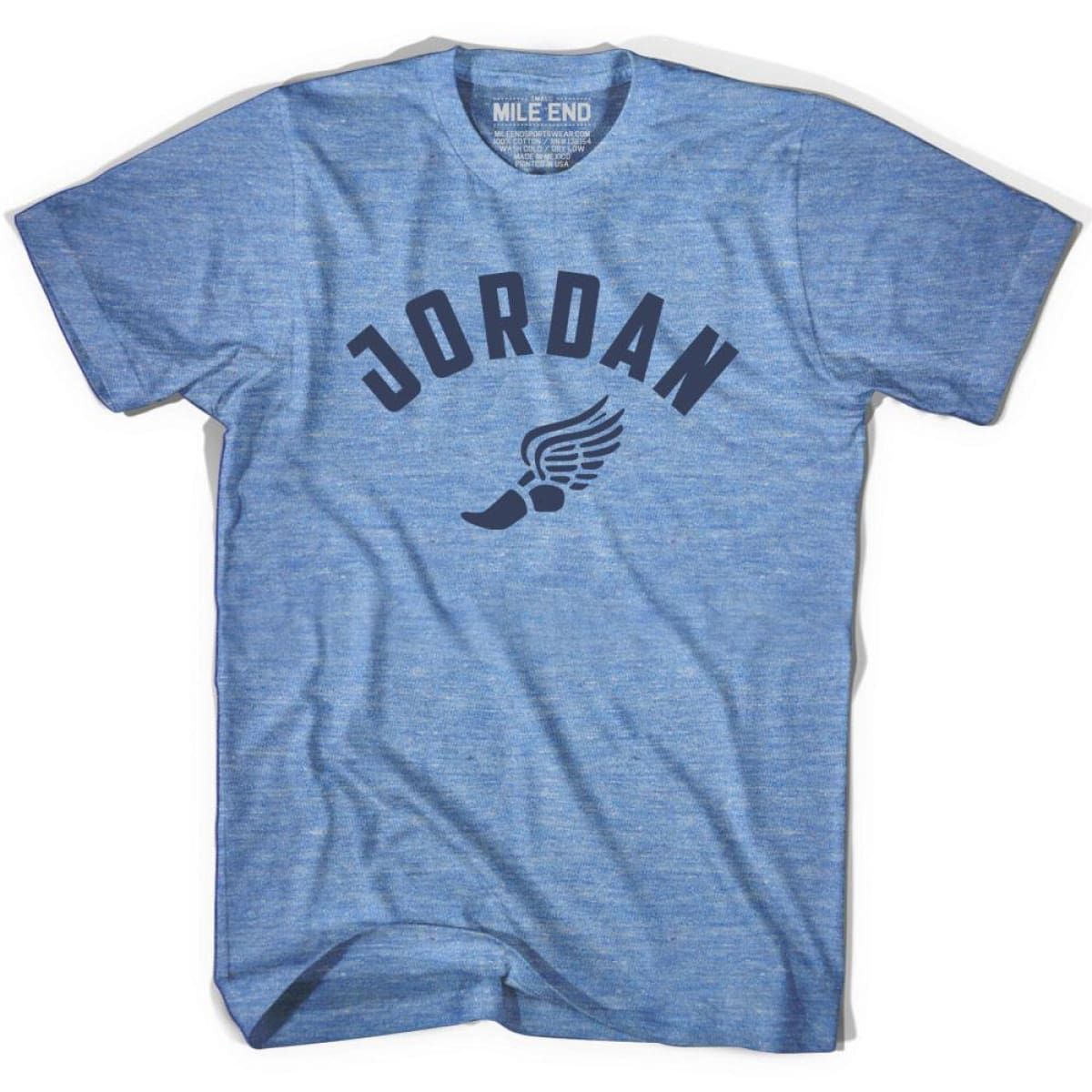 Jordan Track T-shirt - Athletic Blue / Adult X-Small - Mile End Track