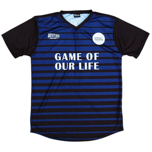 Kicking and Screening Film Fest 2016 Soccer Jersey - Blue / Toddler 1 / No - Collabs