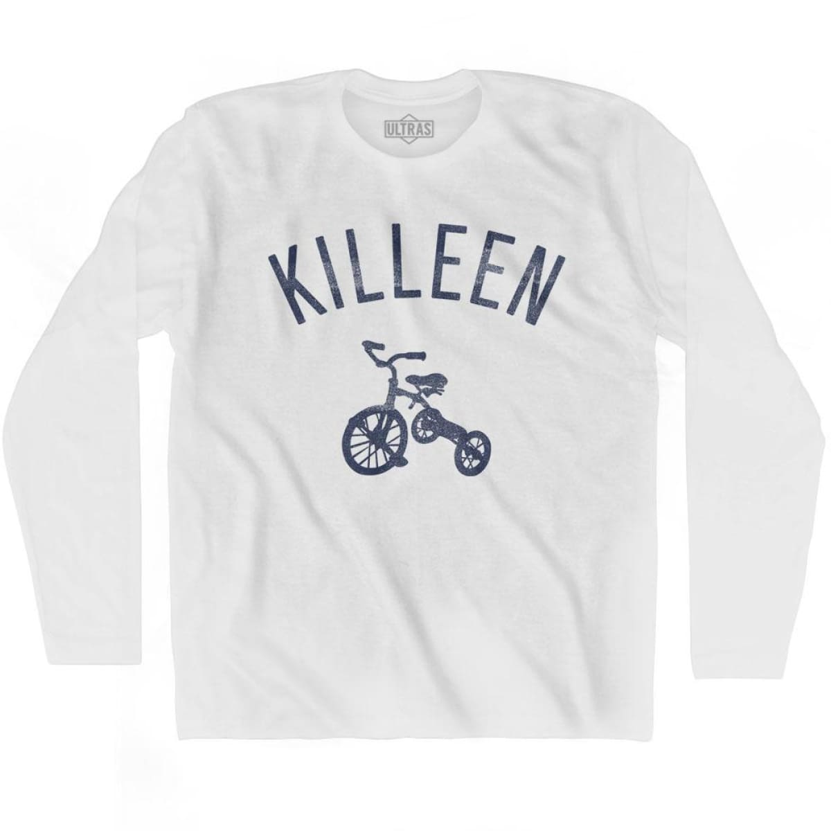 Killeen City Tricycle Adult Cotton Long Sleeve T-shirt - Tricycle City