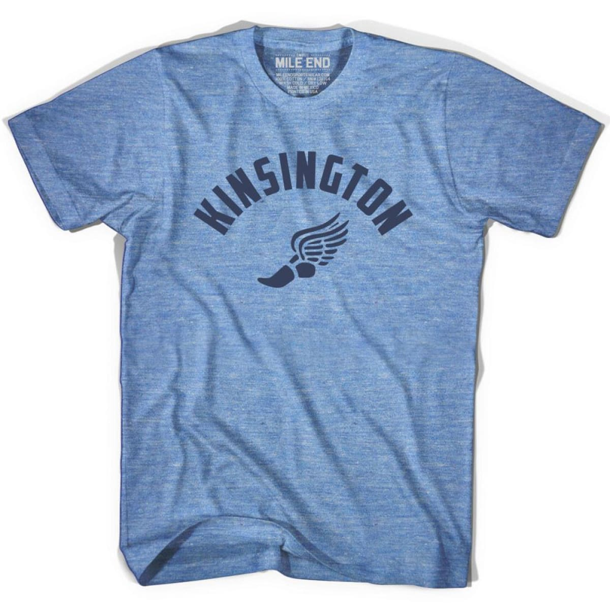 Kinsington Track T-shirt - Athletic Blue / Adult X-Small - Mile End Track