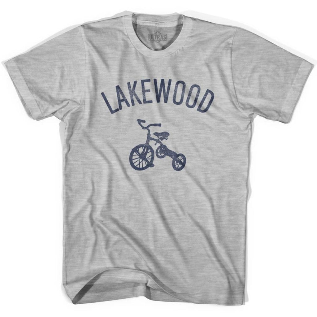 Lakewood City Tricycle Womens Cotton T-shirt - Tricycle City