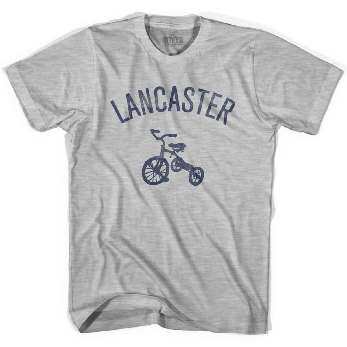Lancaster City Tricycle Womens Cotton T-shirt - Tricycle City