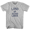 Minnesota Land of 10,000 Lakes Nickname Adult Cotton T-shirt by Ultras
