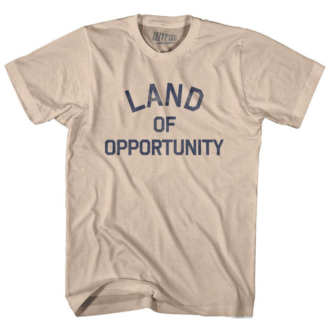 Arkansas Land of Opportunity Nickname Adult Cotton T-shirt by Ultras