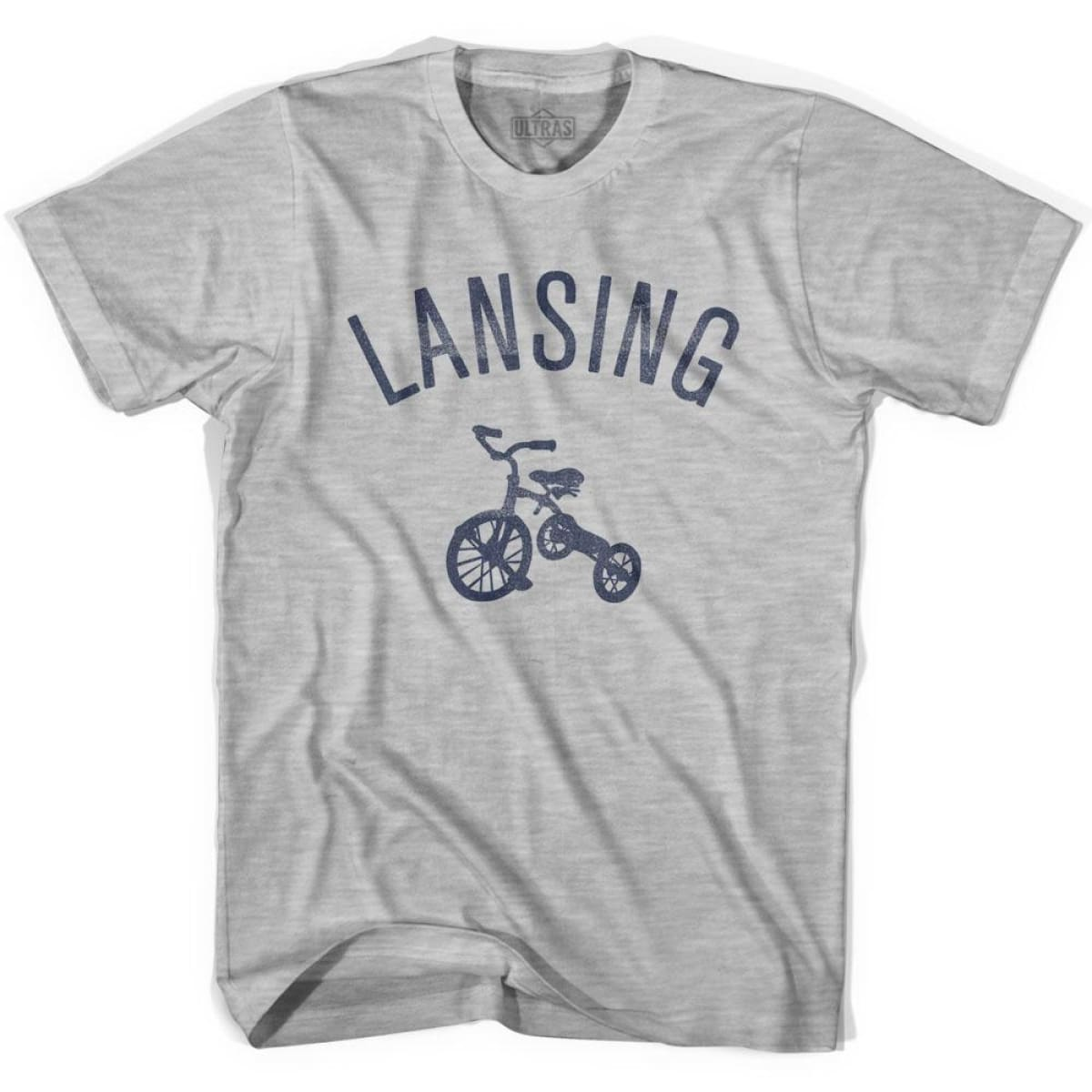 Lansing City Tricycle Youth Cotton T-shirt - Tricycle City