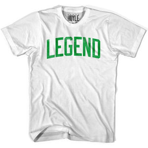 Larry Legend T-shirt - Grey Heather / Adult Small - Basketball T-shirt