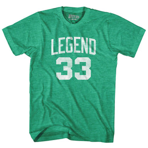 Boston Legend #33 Basketball T-shirt