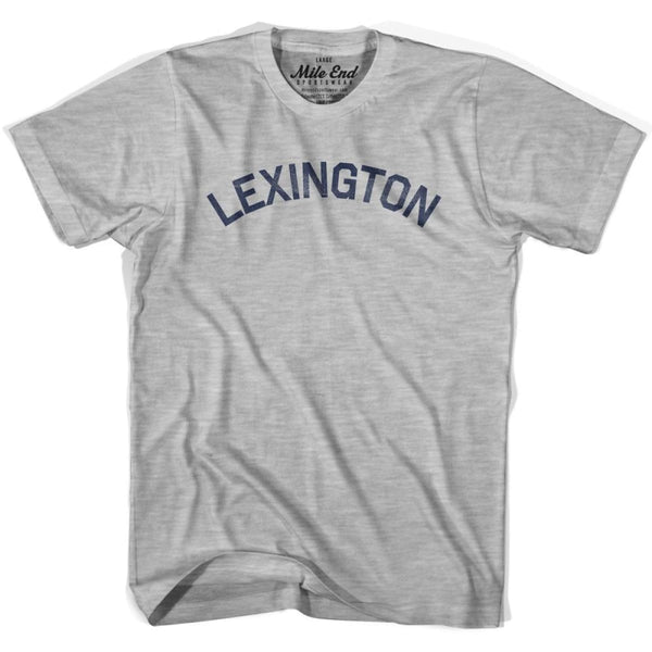 Lexington City Vintage T-shirt - Grey Heather / Youth X-Small - Mile End City