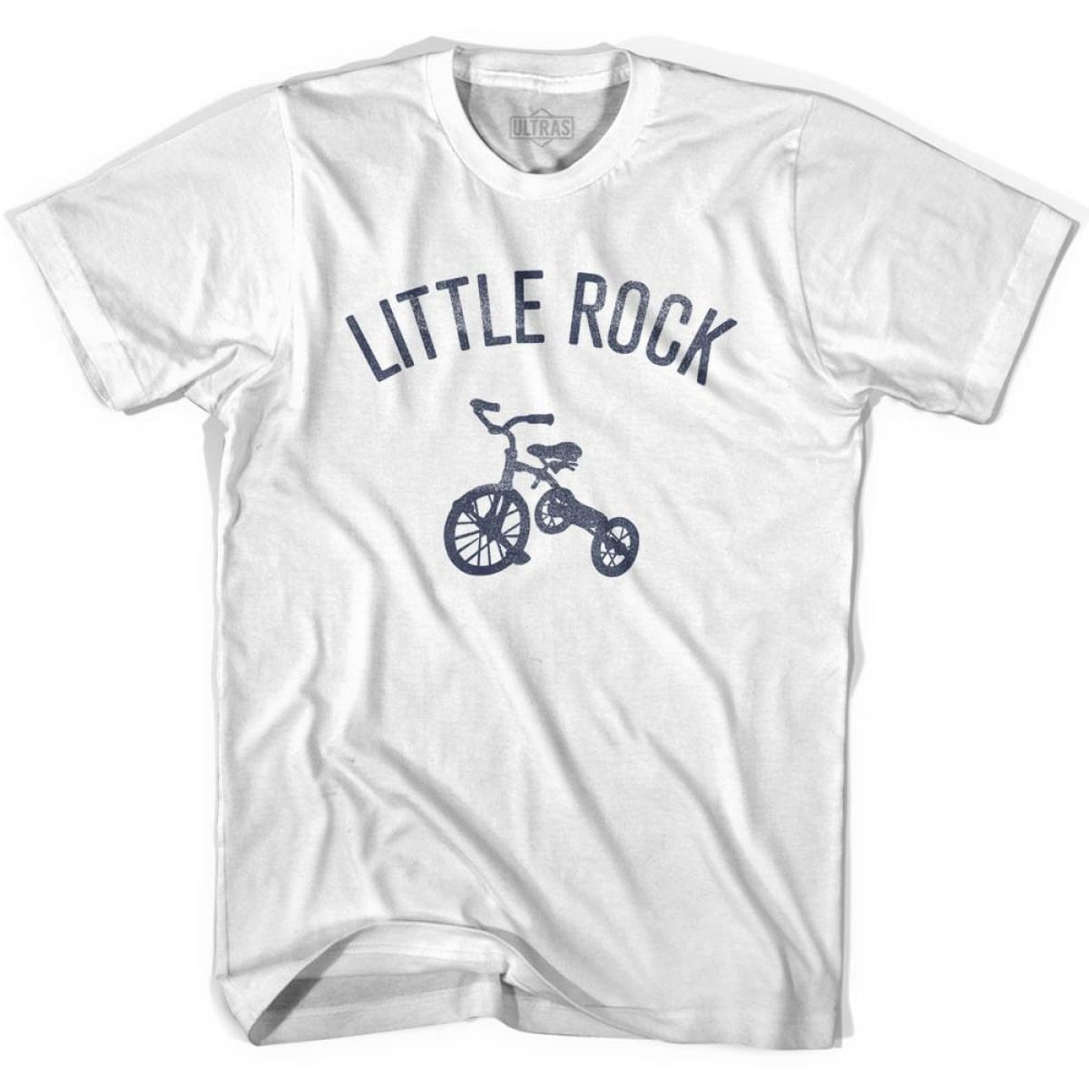 Little Rock City Tricycle Womens Cotton T-shirt - Tricycle City