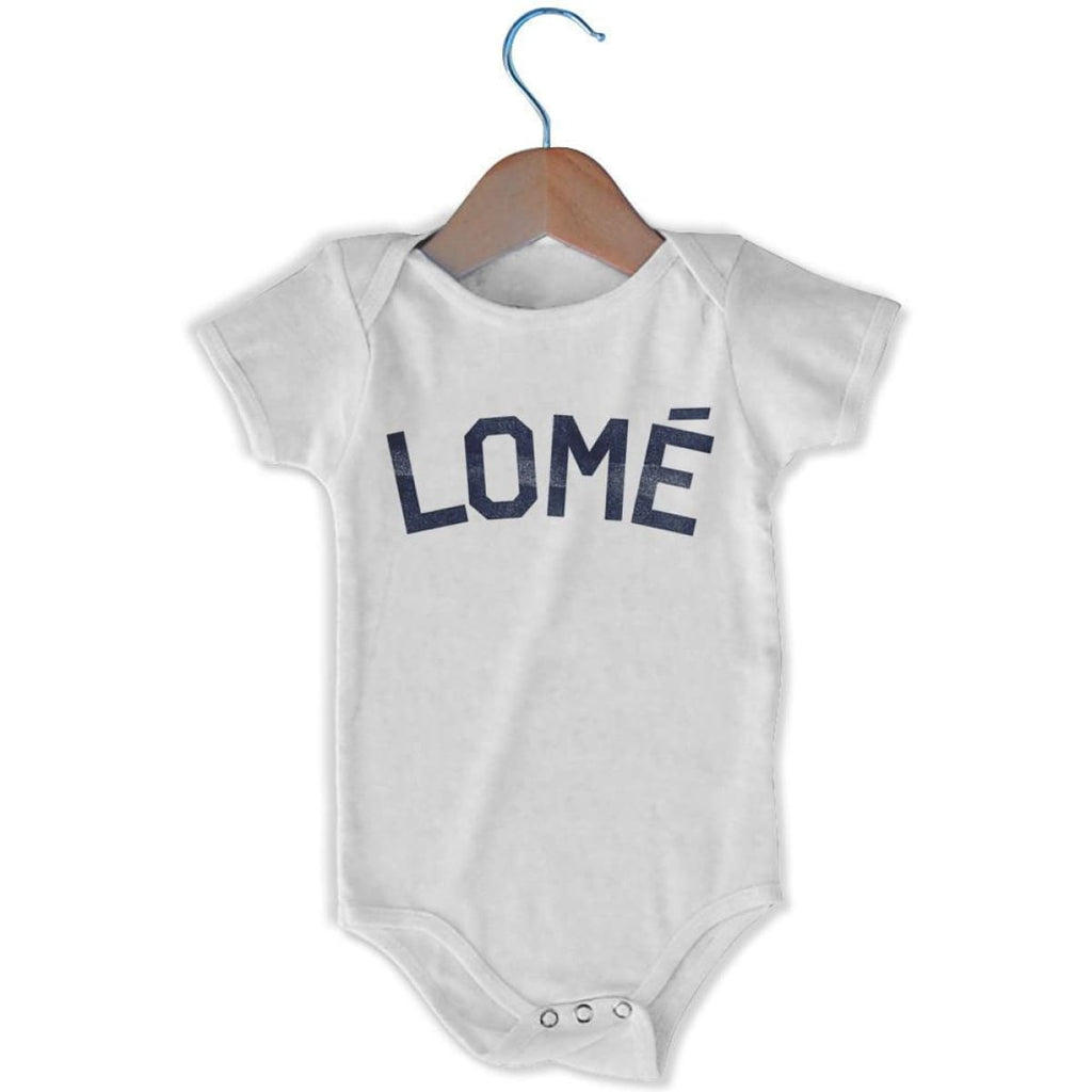 Lomé City Infant Onesie - White / 6 - 9 Months - Mile End City