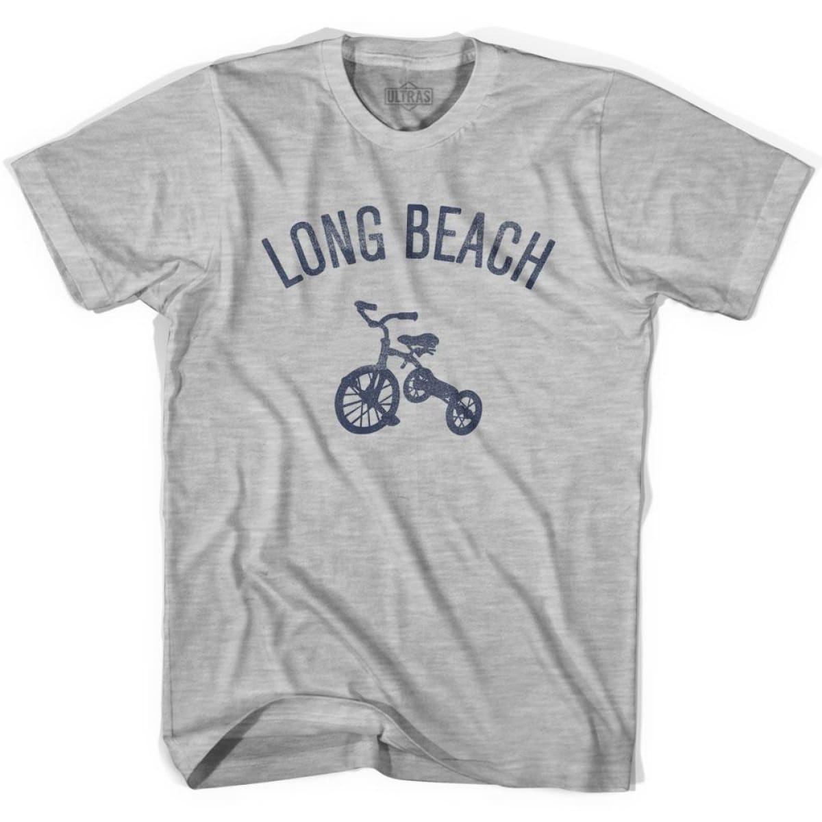 Long Beach City Tricycle Youth Cotton T-shirt - Tricycle City
