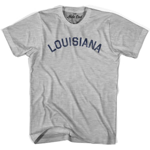 Louisiana Union Vintage T-shirt - Grey Heather / Youth X-Small - Mile End City