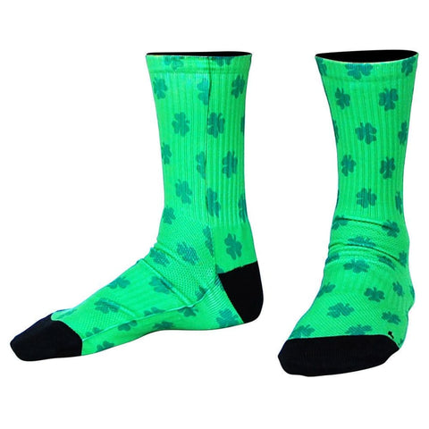Lucky Athletic Crew Socks - Kelly / Medium - Socks