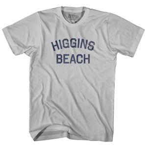 Maine Higgins Beach Adult Cotton Vintage T-shirt by Ultras