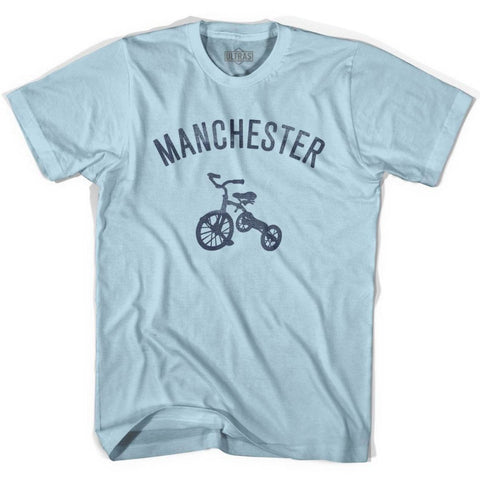 Manchester City Tricycle Adult Cotton T-shirt - Tricycle City