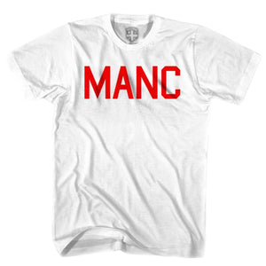 Manchester United MANC T-shirt - White / Youth X-Small - Ultras Soccer T-shirts