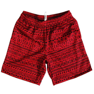 Maori Athletic Fleece Sweatshorts - Cardinal / Adult Small - Sweat Shorts