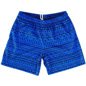 Maori Athletic Fleece Sweatshorts - Cyan / Adult Small - Sweat Shorts