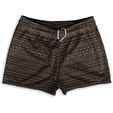"Maori Black Shorty Short Gym Shorts 2.5""Inseam By Ultras Sportswear"