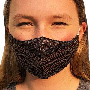Maori Lightweight Reversible Ear Loop Adult Face Mask Made In USA