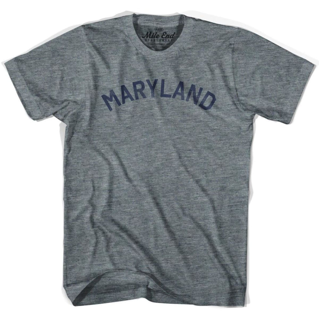 Maryland Union Vintage T-shirt - Athletic Blue / Adult X-Small - Mile End City