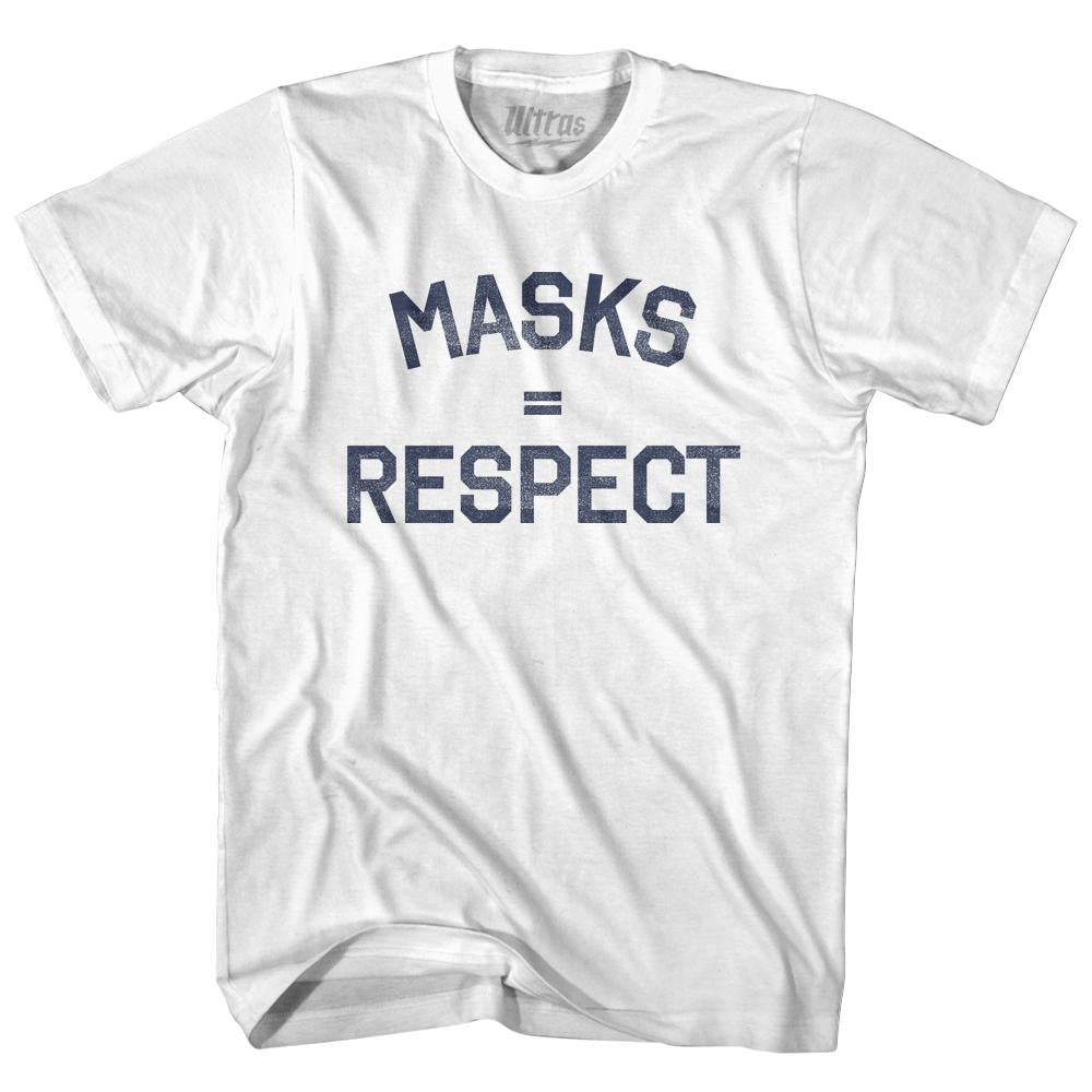 Masks = Respect Youth Cotton T-shirt by Ultras