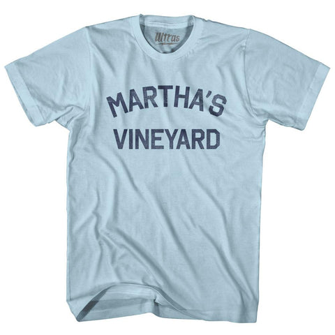 Massachusetts Martha's Vineyard Adult Cotton Vintage T-shirt by Ultras