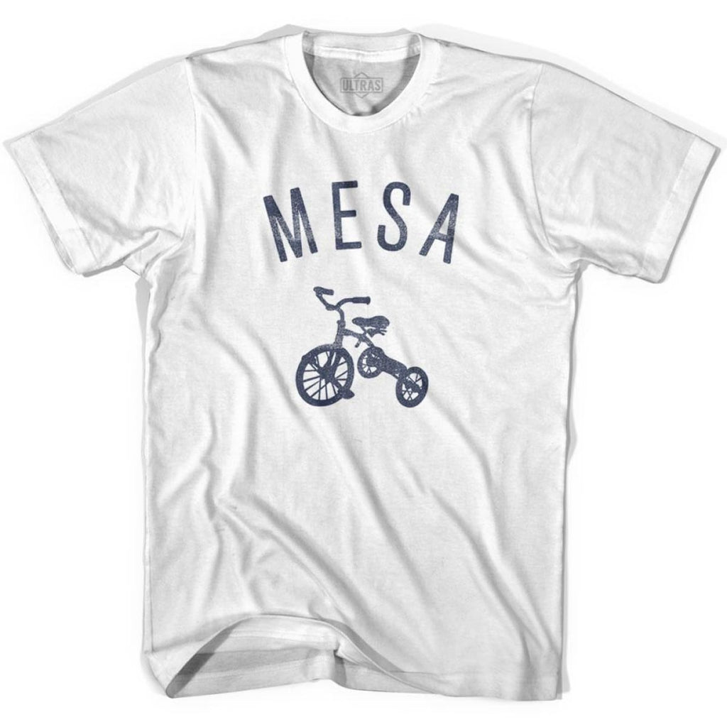 Mesa City Tricycle Womens Cotton T-shirt - Tricycle City