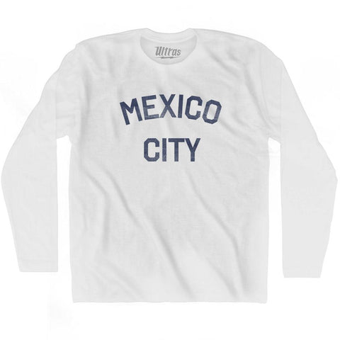 Mexico City Adult Cotton Long Sleeve T-Shirt for Sale | Ultras, City T-shirt, T-shirt