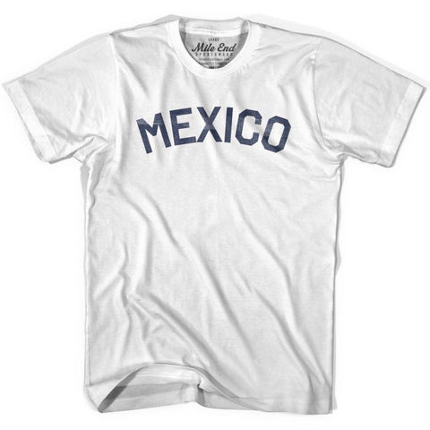 Mexico City Vintage T-shirt-Adult - Grey Heather / Adult Small - Mile End City